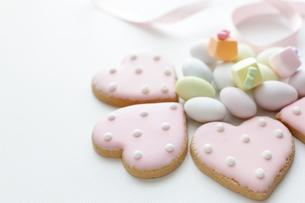 ハートクッキーの写真素材 [FYI00029284]
