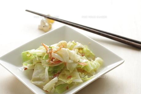 キャベツと桜海老の炒め物の素材 [FYI00029294]
