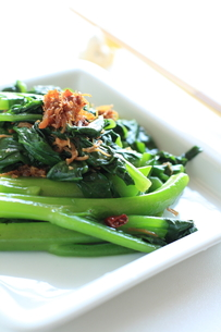 青野菜と中華らー油XOソースの炒め物の素材 [FYI00029375]