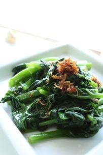 青野菜と中華らー油XOソースの炒め物の素材 [FYI00029383]