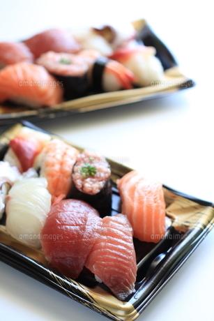 寿司弁当の素材 [FYI00029498]