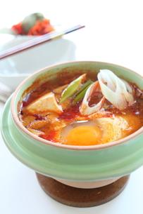 ミニ豆腐チゲの写真素材 [FYI00029501]