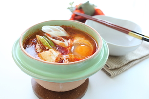 豆腐チゲの写真素材 [FYI00029507]