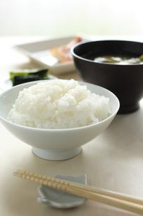 和食の朝ごはんの素材 [FYI00029529]
