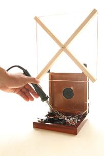 トランジスタラジオの写真素材 [FYI00029561]