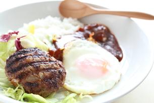 ロコモコ丼の写真素材 [FYI00029620]