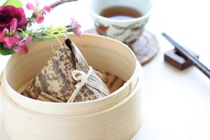 香港飲茶の中華粽の写真素材 [FYI00029809]
