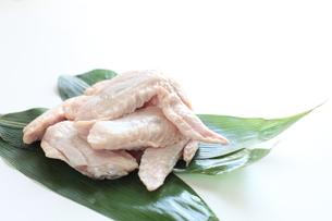 岩手県の十文字鶏の手羽先の写真素材 [FYI00029961]