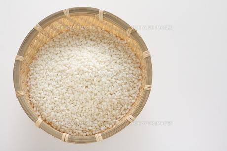 もち米の精米の素材 [FYI00029977]