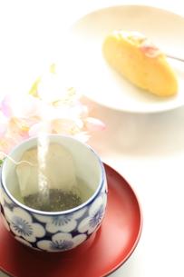 日本茶のティーバッグの素材 [FYI00030159]