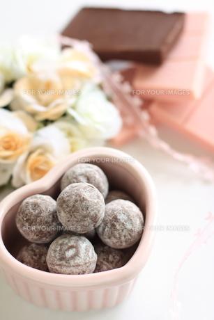 バレンタインチョコと材料の素材 [FYI00030193]