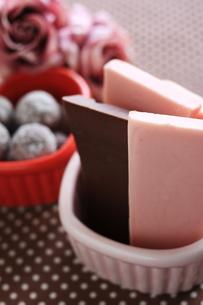 チョコレートの素材 [FYI00030202]