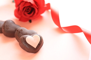バレンタインチョコレートの素材 [FYI00030246]