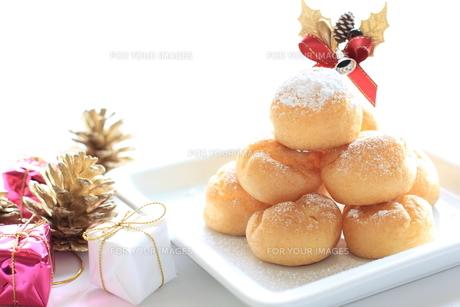 クリスマスデザートの写真素材 [FYI00030262]