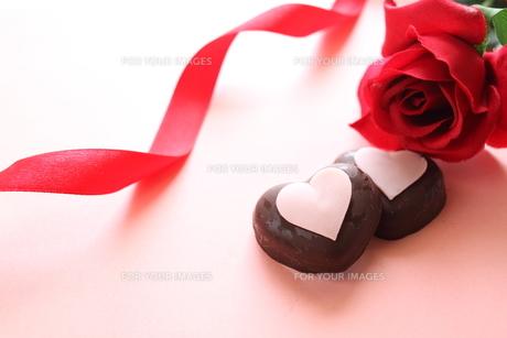 バレンタインチョコレートの素材 [FYI00030276]