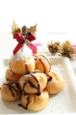 クリスマスデザートの写真素材 [FYI00030281]