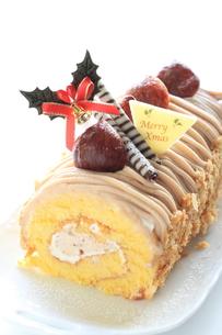 クリスマスケーキの写真素材 [FYI00030347]
