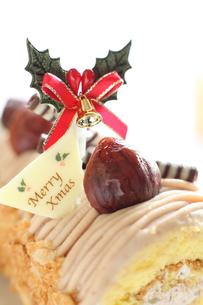 クリスマスケーキの写真素材 [FYI00030357]
