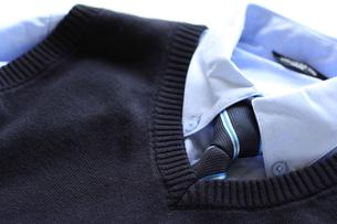 男児用の制服の写真素材 [FYI00030424]
