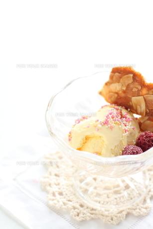 アイスクリームの素材 [FYI00030505]