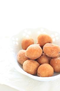 手作りドーナツの写真素材 [FYI00030634]
