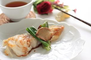 中華のしょうがの焼き鱈の写真素材 [FYI00030716]
