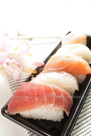 お寿司の素材 [FYI00030749]