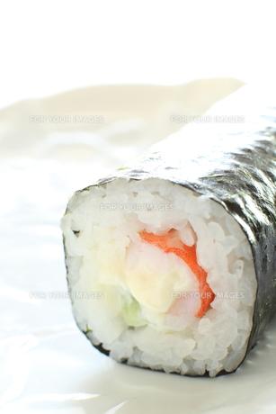 巻き寿司の写真素材 [FYI00030888]
