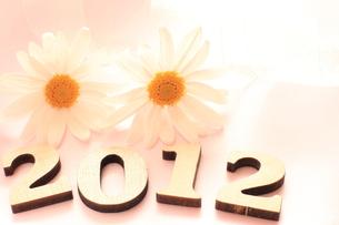 2012年賀の背景の写真素材 [FYI00031116]