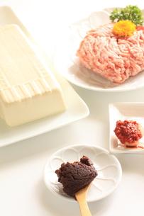 麻婆豆腐の材料の写真素材 [FYI00031165]