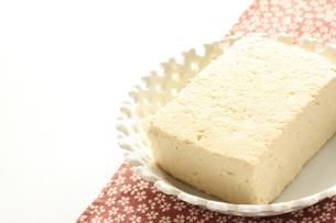 木綿豆腐の写真素材 [FYI00031233]