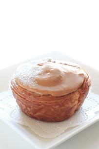 キャラメルケーキの写真素材 [FYI00031413]