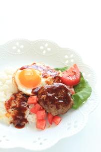 ハワイアン料理のロコモコの素材 [FYI00031518]