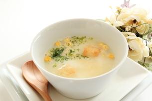 コーンスープの写真素材 [FYI00031521]