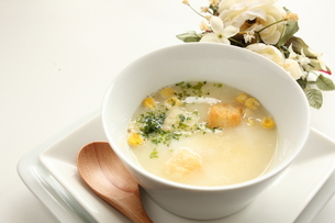 コーンスープの写真素材 [FYI00031524]