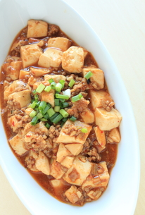 麻婆豆腐の写真素材 [FYI00031526]