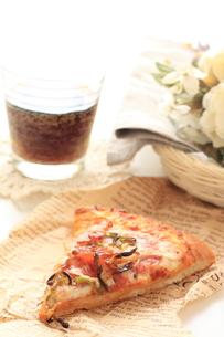 ピザとコーラの素材 [FYI00031558]