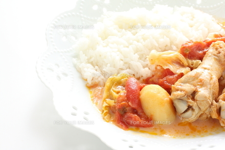 ちきんのトマト煮の写真素材 [FYI00031573]