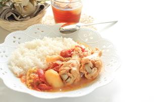 チキンとトマト煮の素材 [FYI00031577]