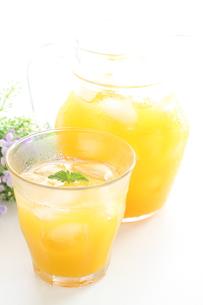 オレンジジュースの写真素材 [FYI00031986]