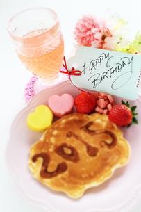 ジオラマ風の誕生日カードの写真素材 [FYI00032281]