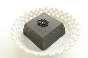 胡麻豆腐の写真素材 [FYI00032713]