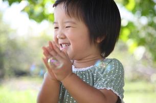 笑う女の子の写真素材 [FYI00032728]