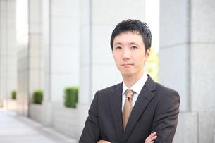 真顔のビジネスマンの写真素材 [FYI00032763]