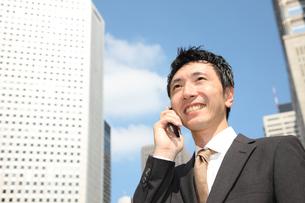 ビジネスマンの写真素材 [FYI00032777]