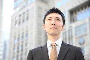 真顔のビジネスマンの写真素材 [FYI00032799]