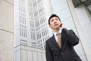 ビジネスマンの写真素材 [FYI00032805]