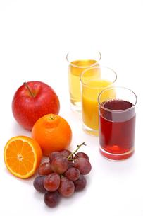 フルーツジュースの写真素材 [FYI00033637]