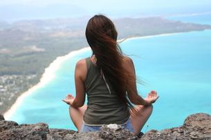 瞑想の写真素材 [FYI00033704]