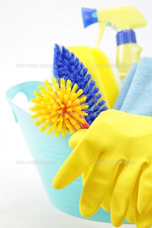 掃除道具の写真素材 [FYI00034039]